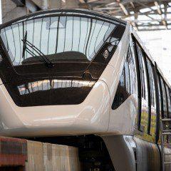 Governador apresenta trem do primeiro monotrilho do Brasil