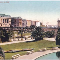 Viaduto do Chá e Teatro São José
