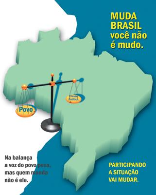 muda brasil vc n e mudo