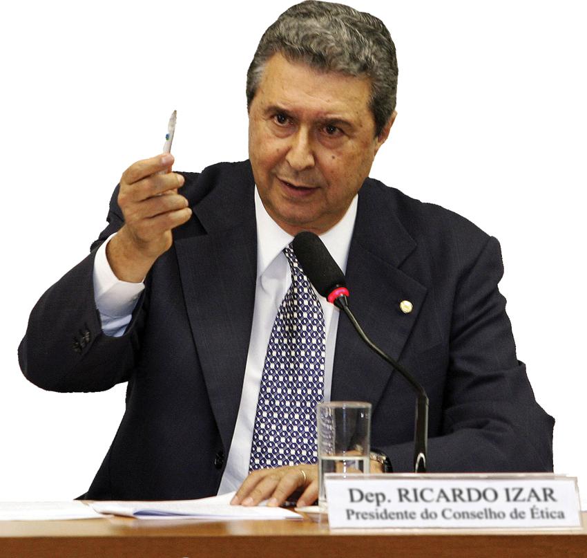 Ricardo Izar na Comissão de Ética e Decoro Parlamentar