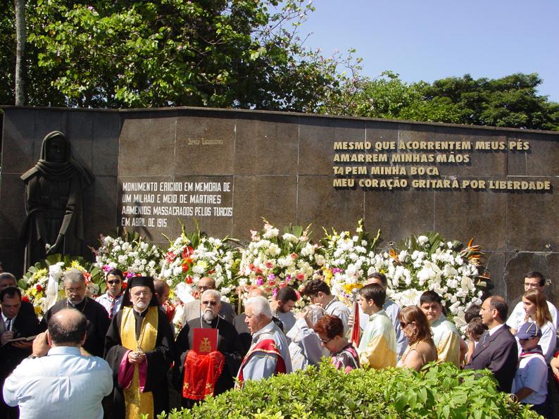 2008: Armênios manifestam-se em São Paulo