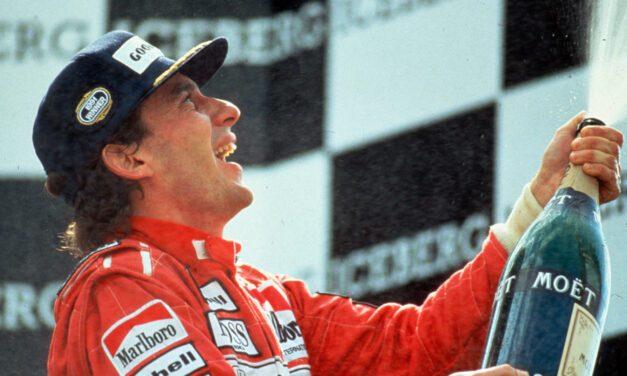 Ayrton Senna, campeão