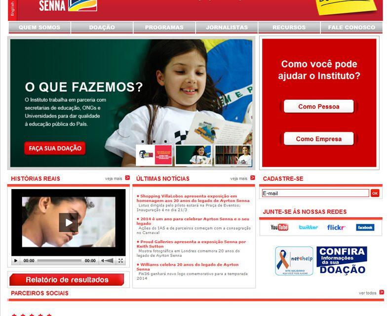 Instituto Ayrton Senna, 20 anos