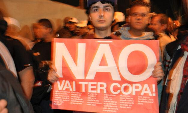 Manifestação no Tatuapé, contra a Copa