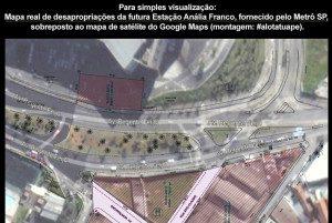 mapa metro analia