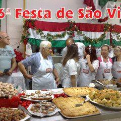 Visite a 96ª Festa de São Vito e se delicie com as iguarias das Mammas