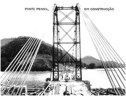 Os 100 anos da Ponte Pênsil