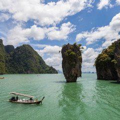 James Bond Island, na Tailândia