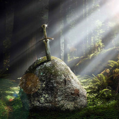 Rei Arthur, os Cavaleiros e Merlin – o mago