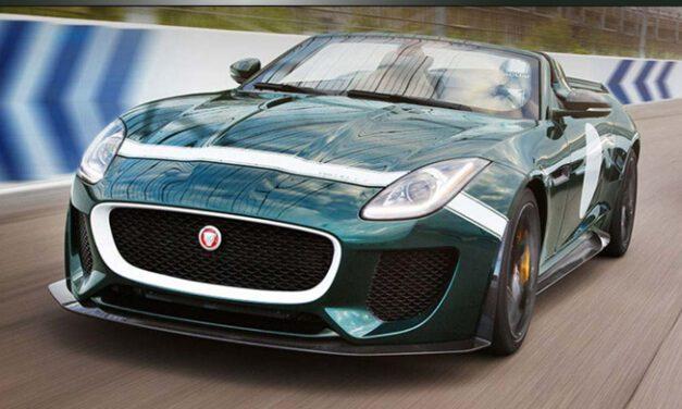 Jaguar produzirá 250 unidades do F-Type Project 7