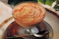 Papaia com Sorvete e Licor