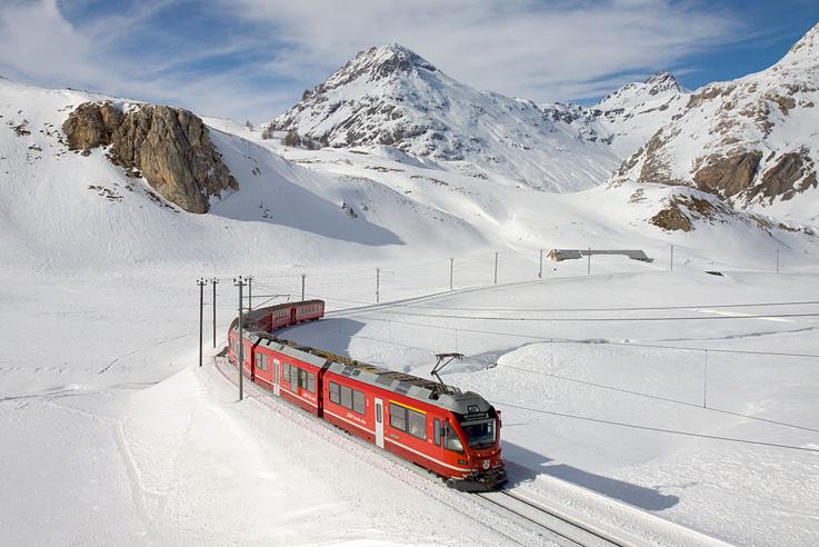 Glacier Express, uma viagem pelos Alpes
