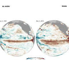 Condições oceânicas favorecem El Niño