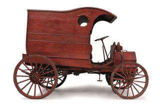 Carros antigos: Chase, delivery