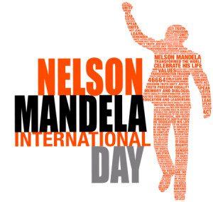 Símbolo do Nelson Mandela Internacional Day, divulgado mundialmente há 5 anos.