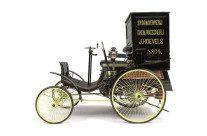 Carros antigos: Benz divulga a primeira van do mundo
