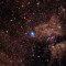 Poderoso e pulsante Núcleo de Estrela