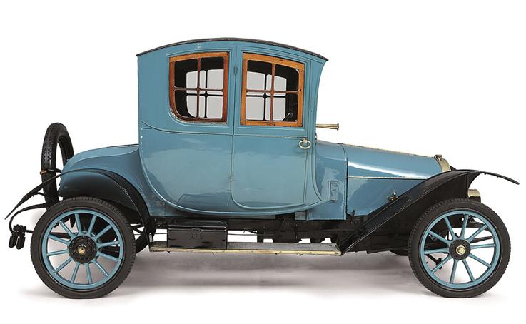 Carros antigos: Grégoire 12/14-HP Coupé de Voyage
