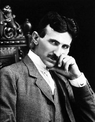 O cientista pioneiro Nicola Tesla. Foto: Wikipedia