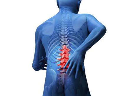 Dor na coluna pode estar relacionada com distração nos movimentos mais simples. Foto: Divulgação