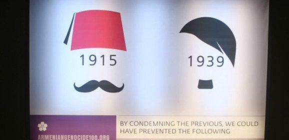 Na Armênia, cartazes relembram massacre de 1915
