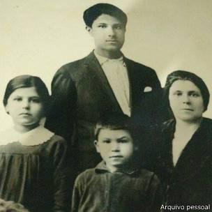 Bisavó da família Semerdjian sobreviveu a uma dura viagem de navio ao Brasil. Foto: Arquivo pessoal | BBC Brasil