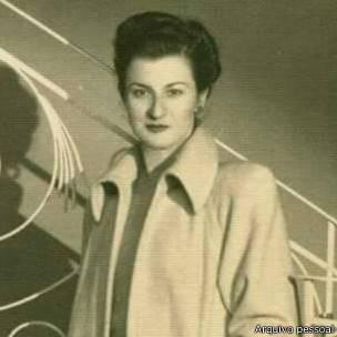 Lucy Aroyan Yaghdjian em foto cedida por sua neta, Andrea; antepassados ficaram quase dez anos sem notícia um do outro. Foto: Arquivo pessoal | BBC Brasil