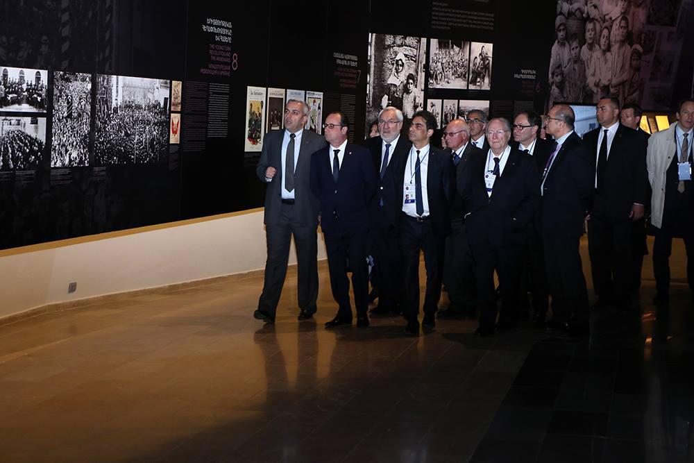 Presidente armênio afirma que genocídio ocorrido há 100 anos foi planejado