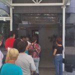 Entrada da Farmácia de Alto Custo - Unidade Vila Mariana. Foto: aloimage (celular)