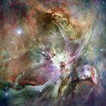 Nebulosa de Orion HST, numa composição a partir de uma imagem do telescópio Spitzer. Foto: Steve Black / a partir de Las Vegas, NV, EUA. / Dados de 12 de maio de 2007, 18:44