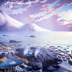 Oceano, há bilhões de anos