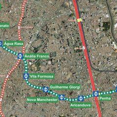 Expansão da Linha 2 Verde do Metrô, tem processos e poucas novidades