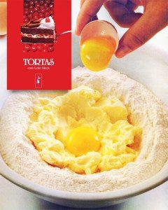 Aprenda as massas de tortas. Foto: Nestlé. Sobrefoto: aloart