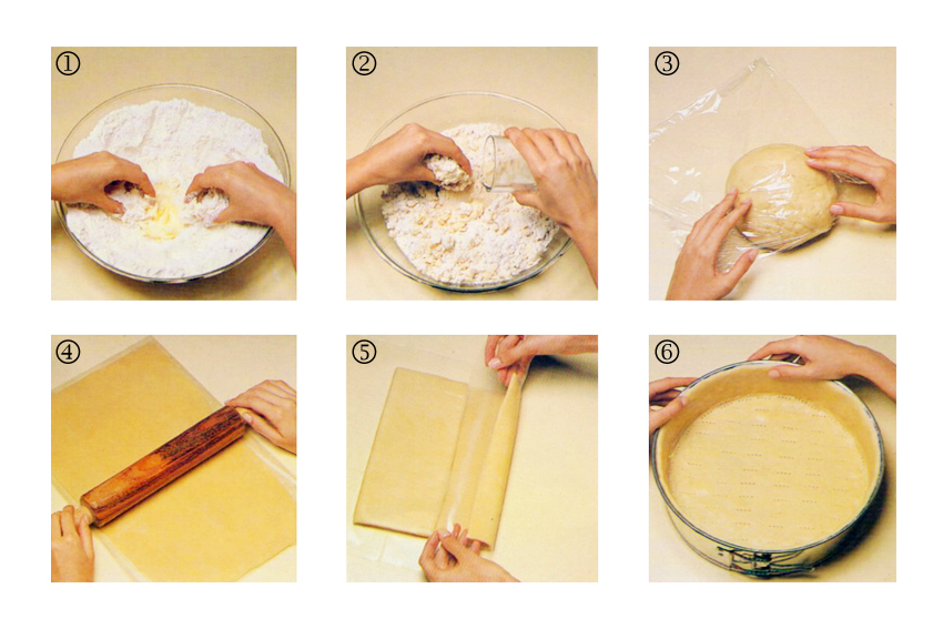 tortas massas preparo