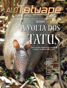 Capa da revista Alô Tatuapé nº 144.