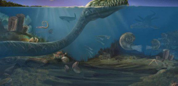 Limites entre os períodos Cretáceo e Paleogeno (65 milhões de anos atrás)
