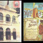 Moulin Rouge Café Concerto no Largo do Paisandú e anúncio. Fotoframe de vídeo / FAPESP