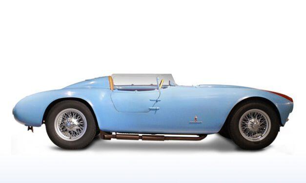 Carros antigos: Lancia D23 Spyder Pinin Farina