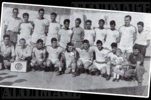 Formação do Clube Atlético Azevedo Soares. Foto: Acervo histórico Alô Tatuapé, cedida pelo clube