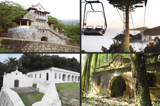 Roda SP Litoral: 20 roteiros para o turista da Baixa Santista. Fotos: divulgação / GESP