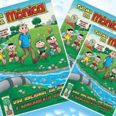 Turma da Mônica no Dia Mundial da Água