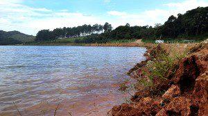 Imagem de reservatório do Sistema Cantareira. Foto: Sabesp / Divulgação