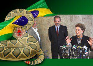 Presidente Dilma Rousseff. Foto: Valter Campanato/Agência Brasil. Ilustração/sobrefoto: aloart