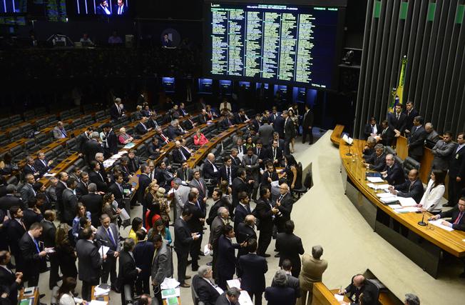 Câmara dos Deputados: aprovados os nomes da comissão que irá analisar o processo de impeachment de Dilma Roussef. Foto: Gustavo Lima / Câmara dos Deputados
