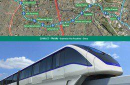 Expansão da Linha 2 – Verde do Metrô pára até dezembro, monotrilho continua