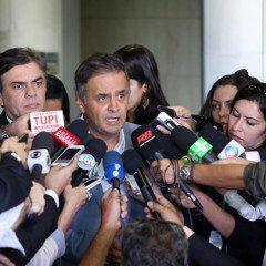 Notícias em imagens: braseiro político