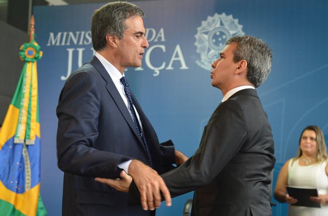 Wellington César Lima e Silva assume o Ministério da Justiça