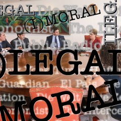 Legal ou ilegal? Moral ou imoral? O impeachment agora é internacional