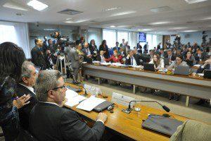 Comissão Especial de Impeachment no Senado (CEIS), realiza reunião para apreciação de requerimentos. Foto: Geraldo Magela/Agência Senado
