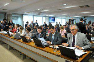 Segunda reunião da Comissão Especial de Impeachment no Senado (CEIS), ocorrida nesta quarta-feira (27). Foto:  Geraldo Magela/Agência Senado